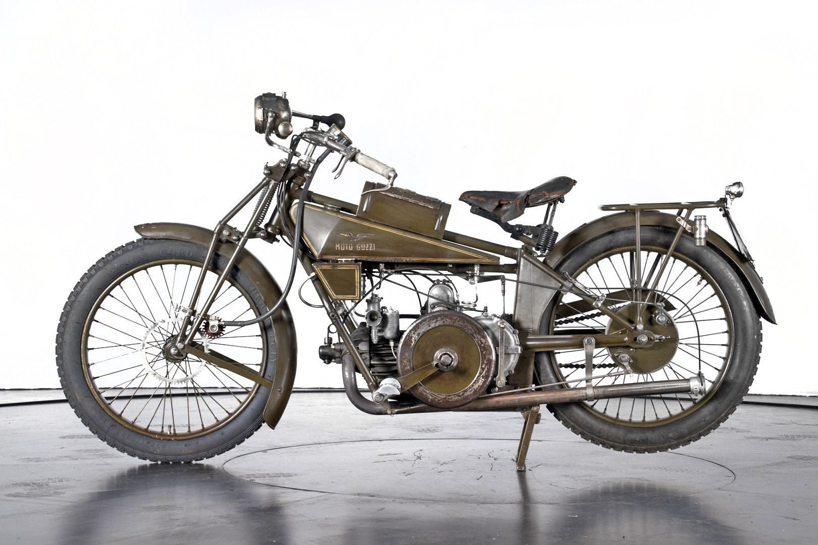 Vintage (used) motorcycles' values: 1924 Moto Guzzi 500 Normale approx. $66,435 for sale
