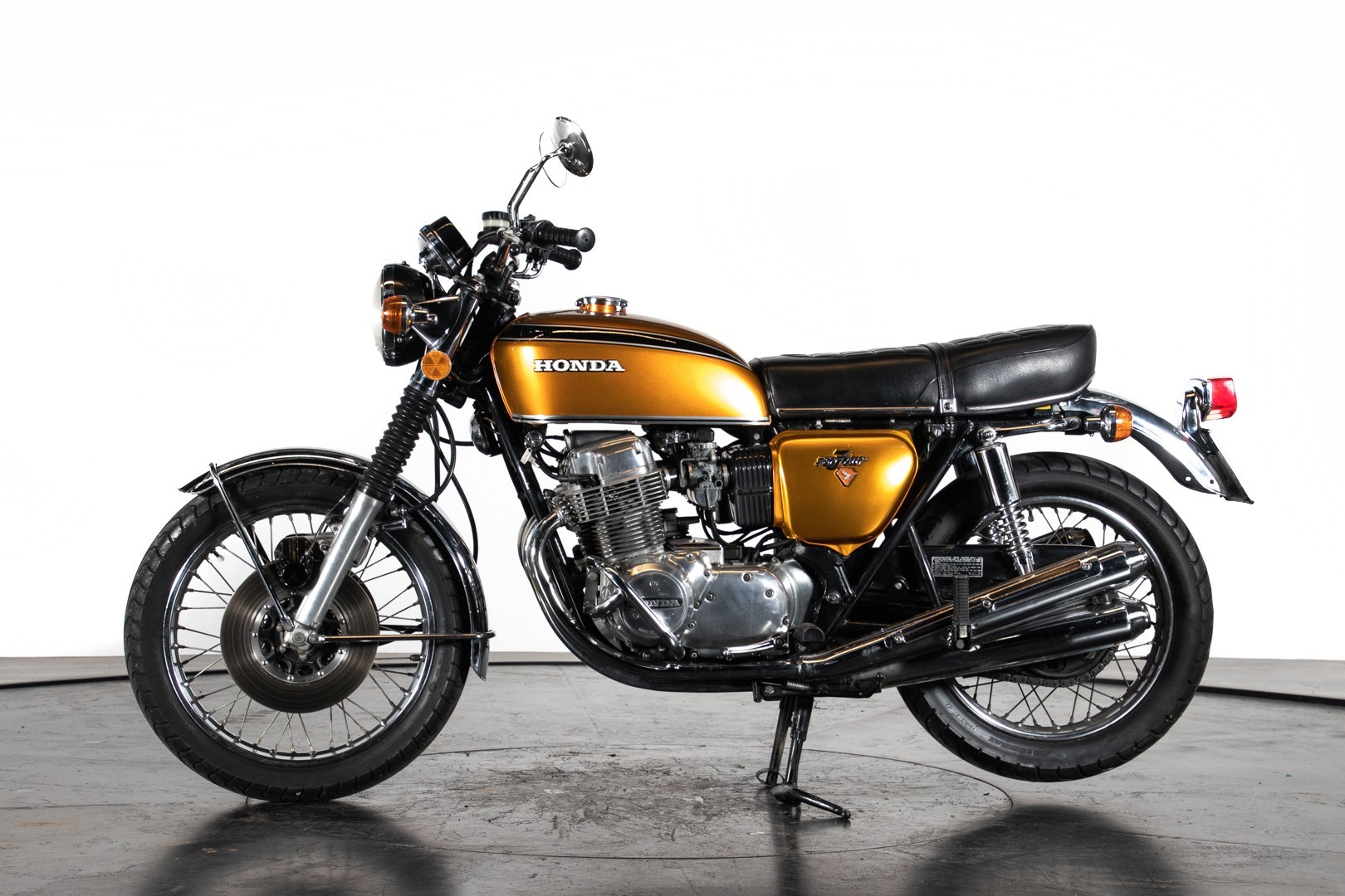 Vintage (used) motorcycles' values: 1972 Honda CB 750 Four, approx. approx. $14,908. for sale