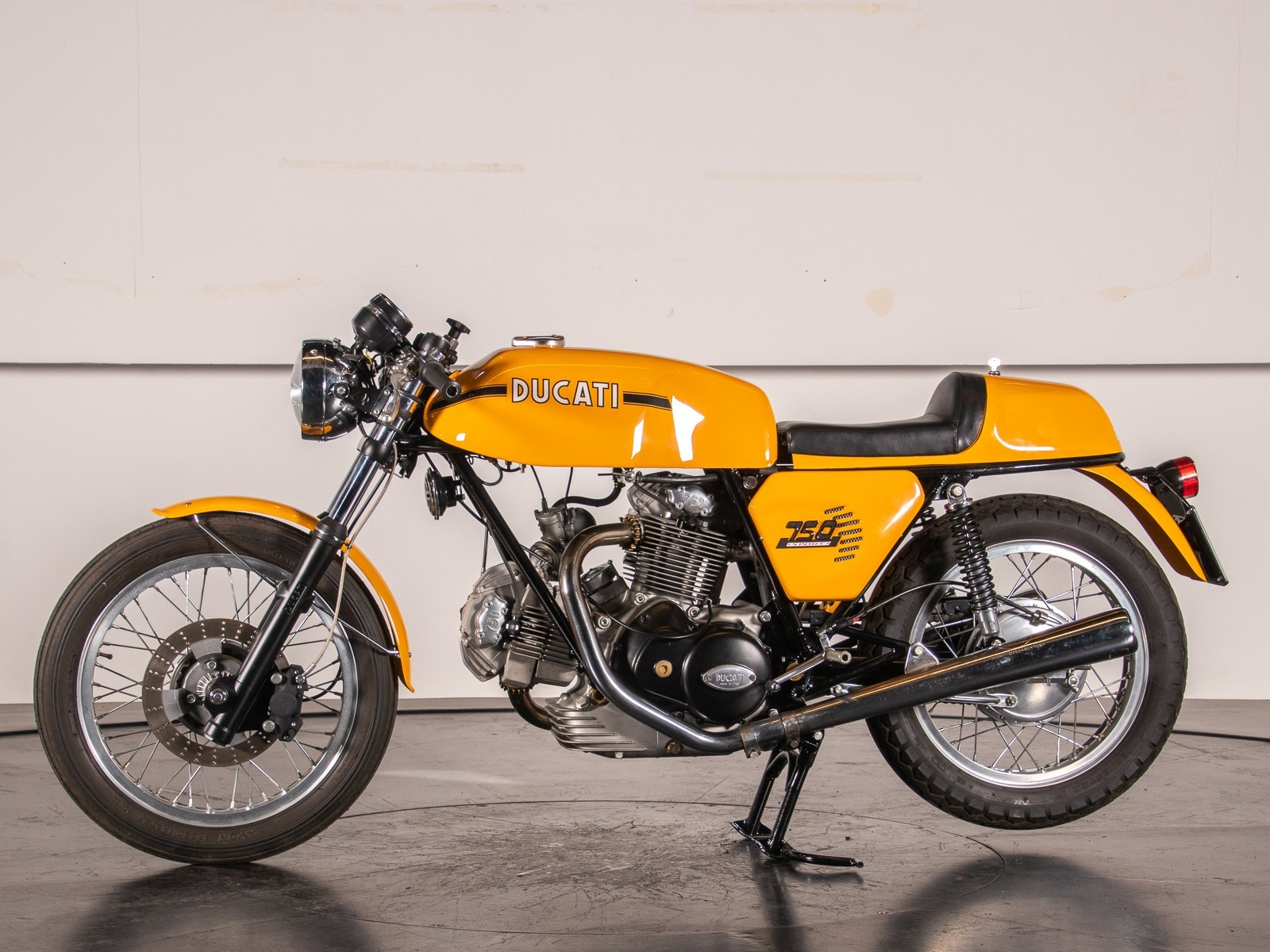 Vintage (used) motorcycles' values: Ducati 750 S approx. $62,876 for sale