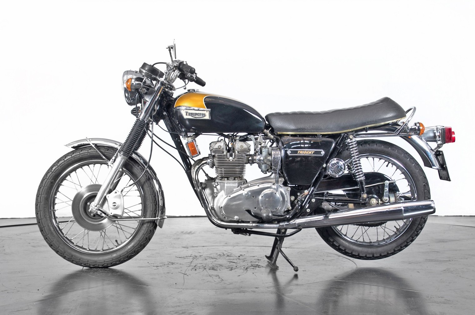 Vintage (used) motorcycles' values: Triumph T150 approx. $16,846 for sale