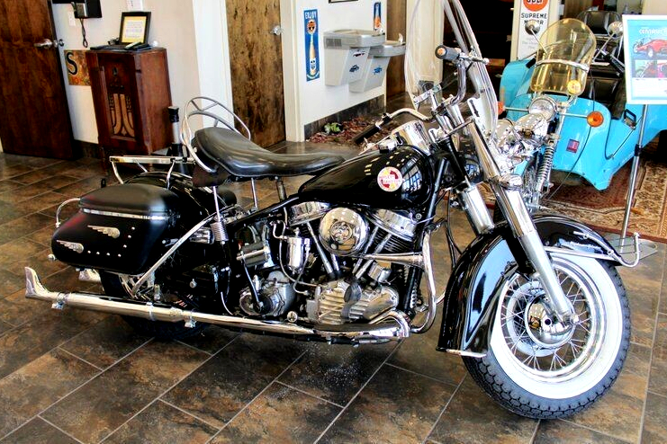 Vintage (used) motorcycles' values: Harley-Davidson FLH Duoglide Elvis Presley recreation (the only one known to exist for sale), US$38,557 for sale