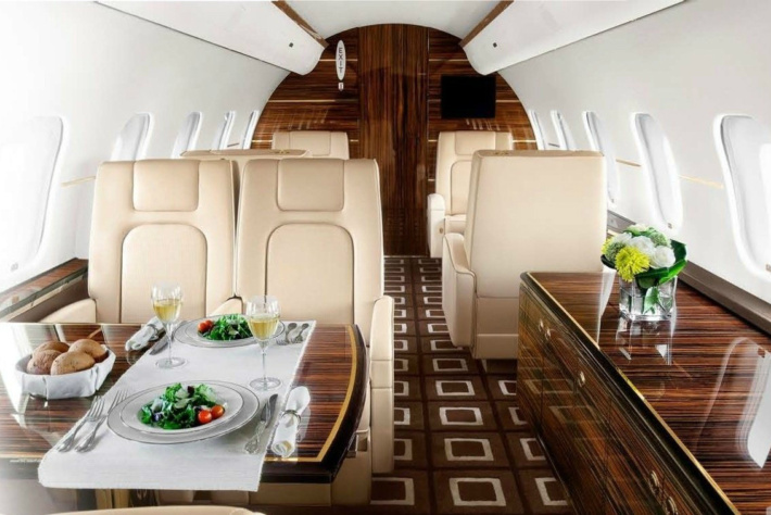 private jet charter for executives-bombardier-1
