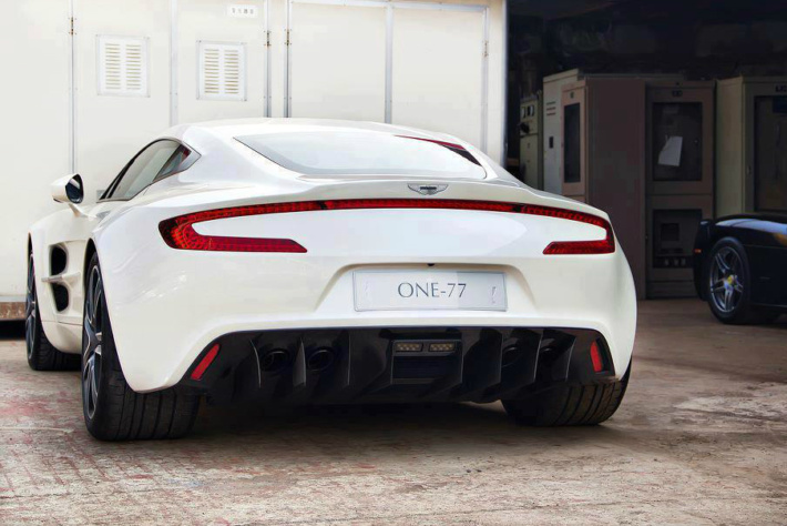 Aston Martin One 77 Rear View