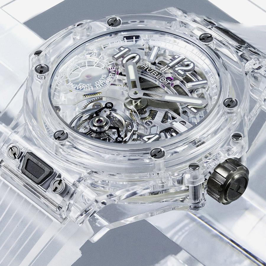 Luxury watches and Hublot Net Worth: Hublot Limited Big Bang watch (99 pc), 2020.