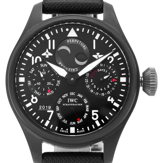 Luxury and expensive watches for men: IWC Big Pilots, 2013.