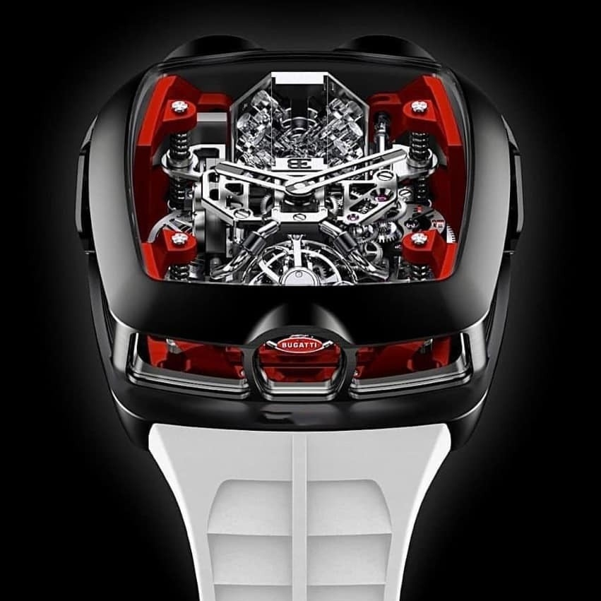 Luxury watches: Jacob & Co. Billionare Watch and Twin Turbo Furious Baguette White Gold, 2019.