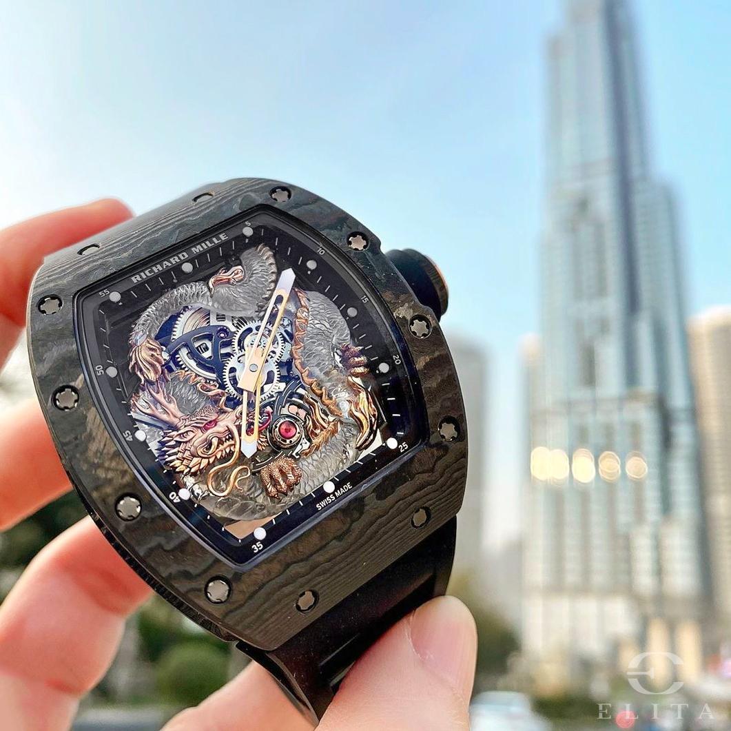 Floyd Mayweather Watch: Richard Mille RM 57-03 Dragon.