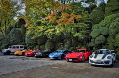 Get access to a garage full of supercars