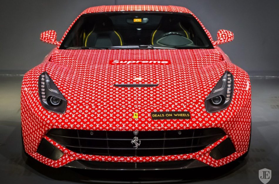 Ferrari F12 Berlinetta In Louis Vuitton Wrapping For Sale On