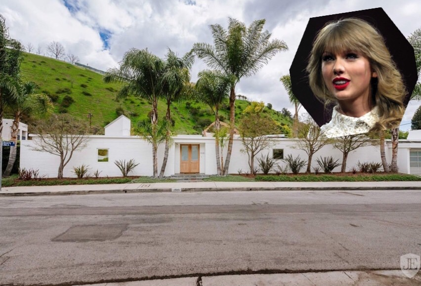 Taylor Swift is selling her Beverly Hills villa!