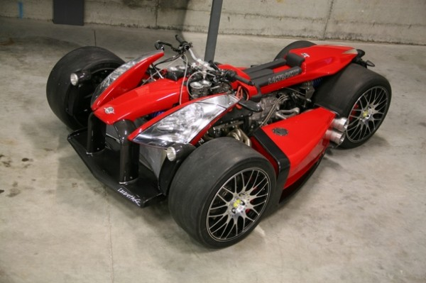 Wazuma V8F: Ferrari-powered madness on JamesEdition. ()