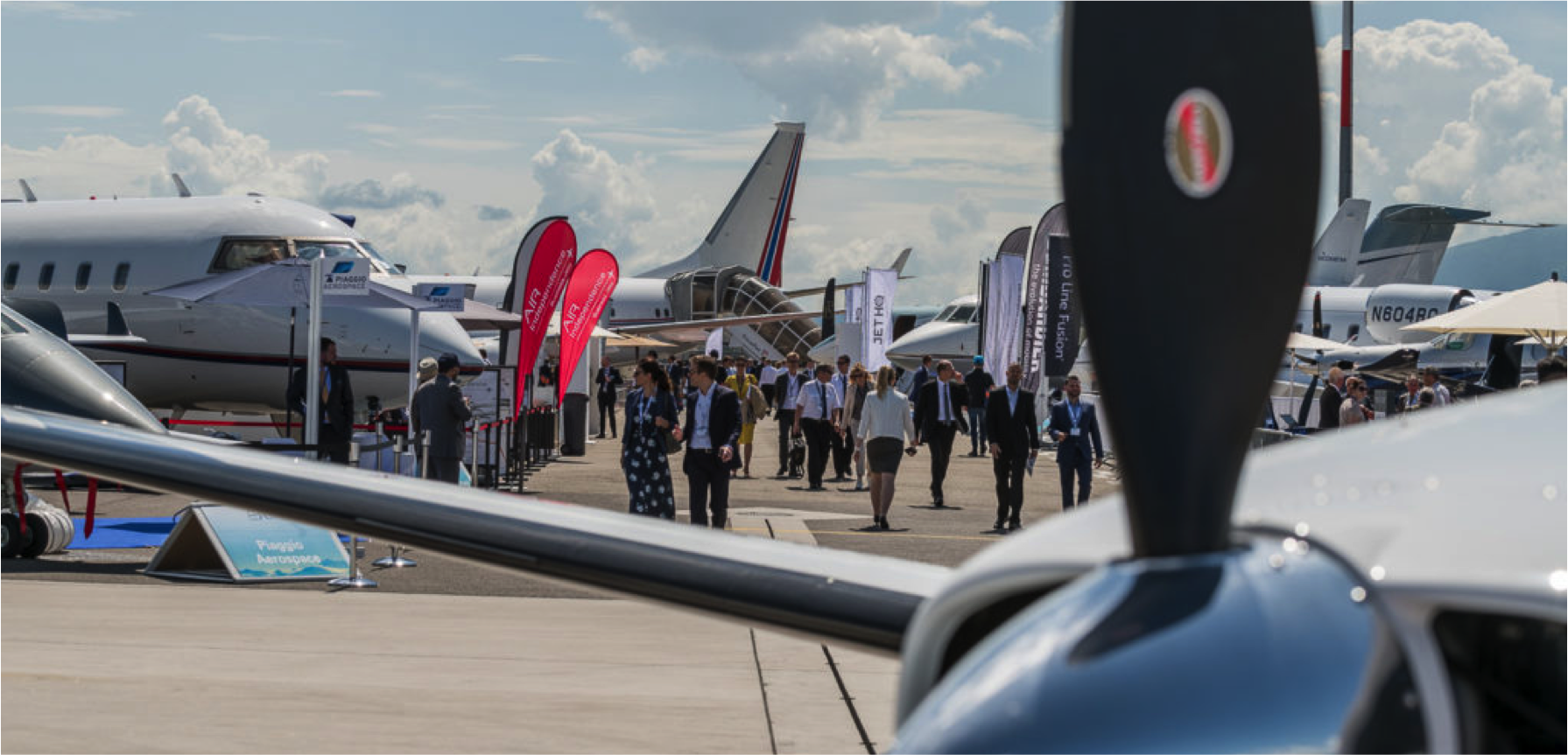 EBACE2018: Brings together the best of Business Aviation in Europe. ()