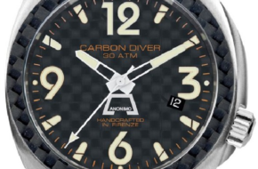 Anonimo Carbon Diver Watch