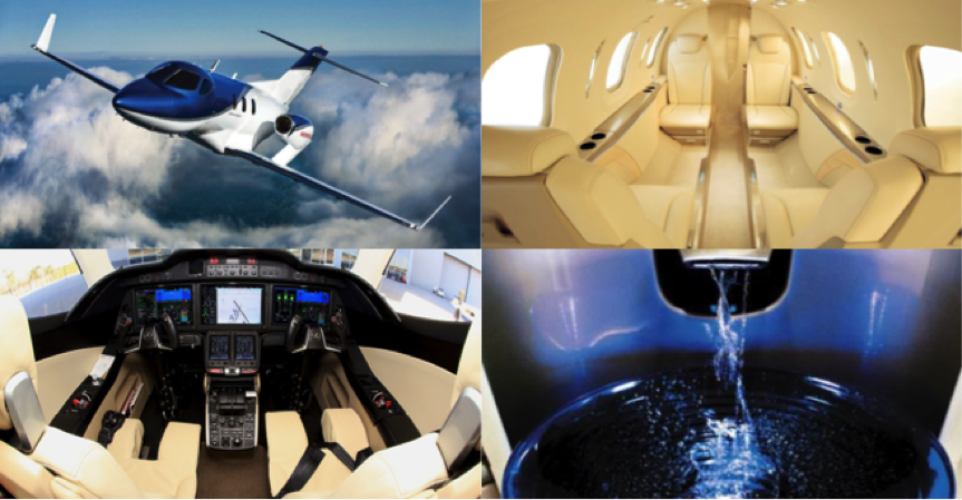 Luxury in the sky