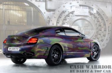Dartz Does it Again – the CA$H.CAMO Bentley GT
