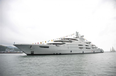 Fincantieri Delivers 440ft. Serene, World's 9th Largest Yacht