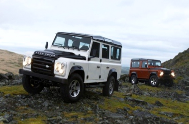Freezer Burn: Land Rover Defender Fire & Ice