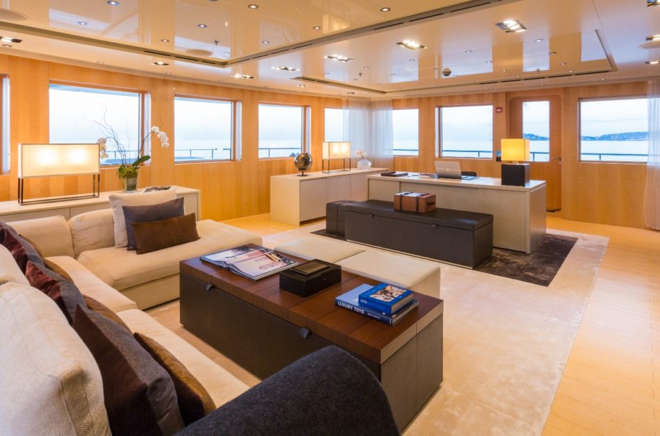 A Look Inside Superacht - Luxury yachts and boats