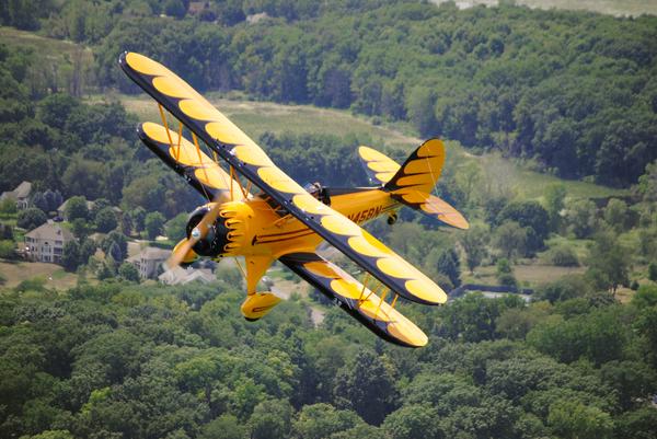 WACO Open Cockpit Bi-Planes - (Jets)