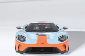 """The First: 2019 Ford GT """"Gulf"""" Heritage Edition VIN 001"""
