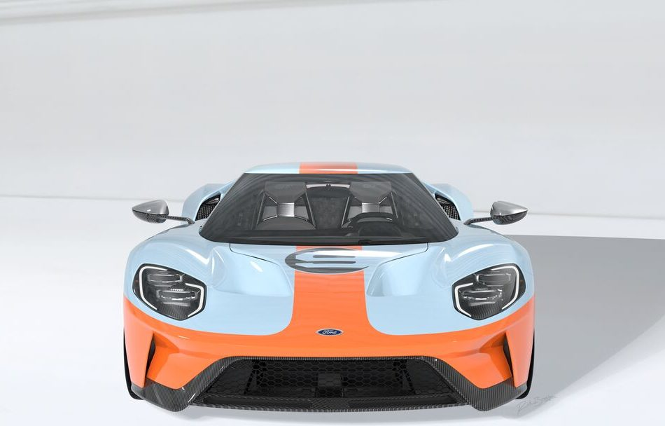 "The First: 2019 Ford GT ""Gulf"" Heritage Edition VIN 001"