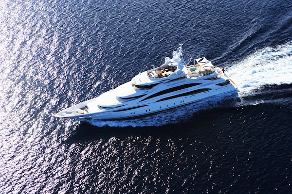 Yacht Sales Chart Growth for 2013
