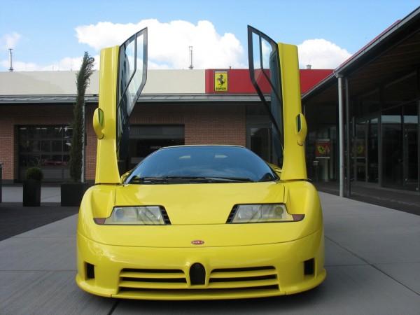 Michael Schumacher's Bugatti EB 110 Super Sport on James - (Сars)