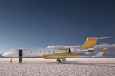 The Ultra-Cool iPad-Controlled Gulfstream G550 Concept