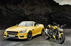 Mercedes Meets Ducati for Powerful Pair-Up