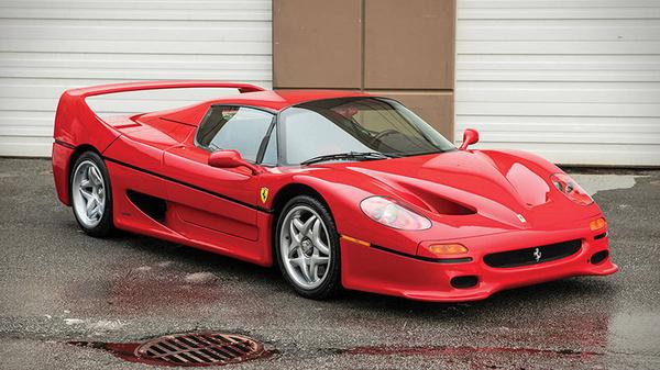 Mike Tyson's Ferrari F50 got sold for nearly $4 million