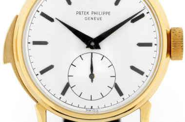 Rare Patek Philippe Minute Repeater Watch Sold By Cartier For Auction.