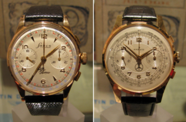Rare Racing Chronographs of the '50s at Collector Studio