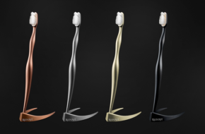 The 4,000 dollar Titanium Toothbrush: Combining Good Dental Hygiene, Exceptional Luxury and Great Aesthetic Appeal