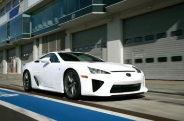 Toyota presents first Lexus supercar, LFA V-10