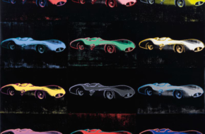 Andy Warhol's Mercedes-Benz W196 Painting to be Sold at Auction