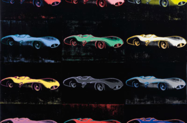 Andy Warhol's Mercedes-Benz W196 Painting for Sale at Auction.