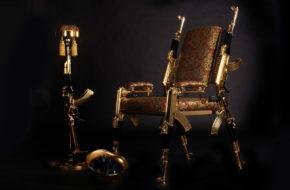Art not War: Extraordinary AK-47 furniture