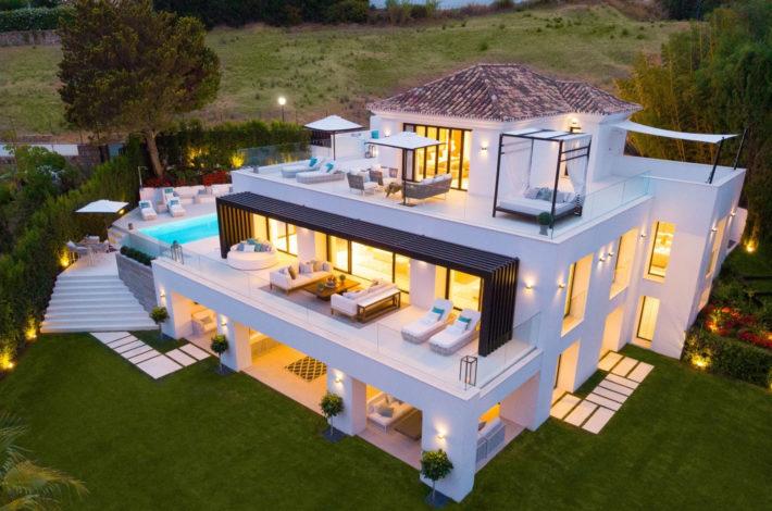luxury villas in Marbella