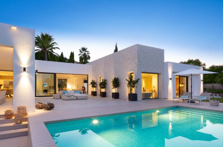 new villa in m