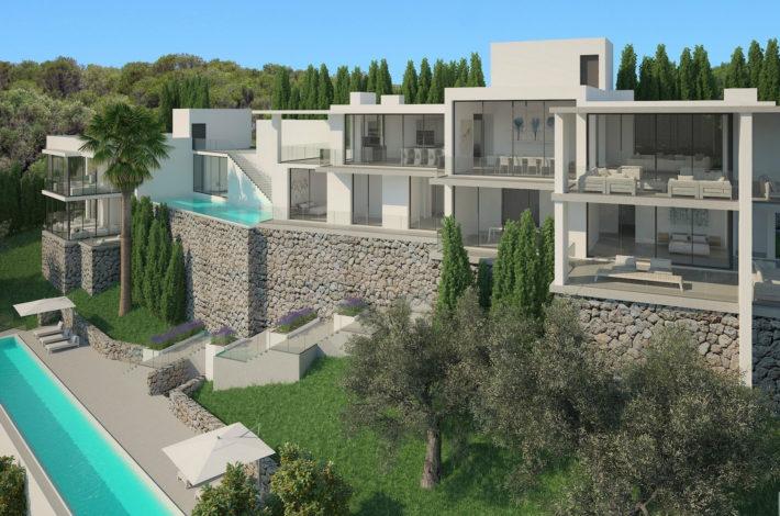 luxury villas in Majorca and Menorca-villa project Port Andratx-1