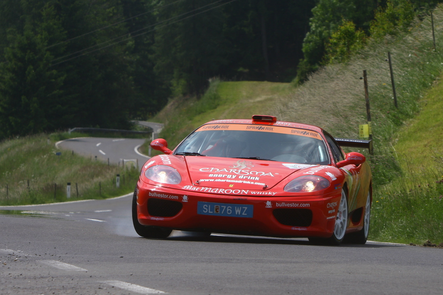 Has a Ferrari ever done it before? Rally-spec 360 Modena Challenge wins
