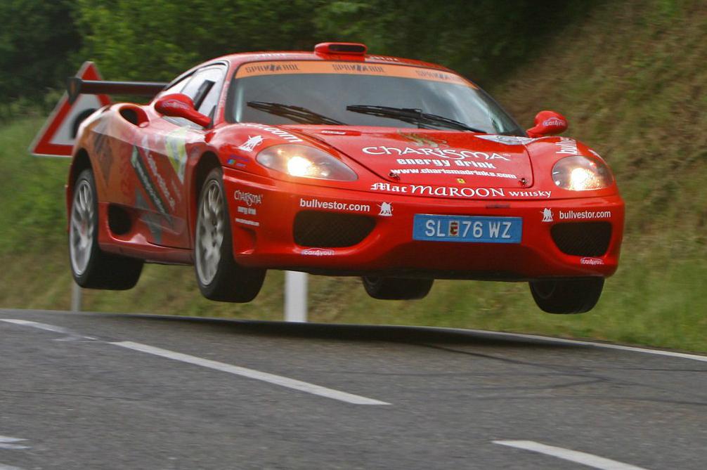 Ferrari 360 judenburg salto3