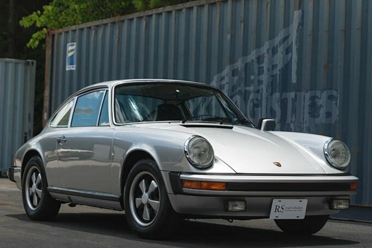The best old Porsche 911 models: Porsche 911 S 1977