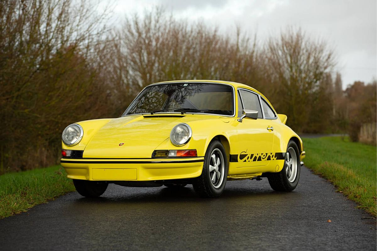 Classic Porsche 911 values: Porsche 911 Carrera RS 2.7 Lightweight 1973