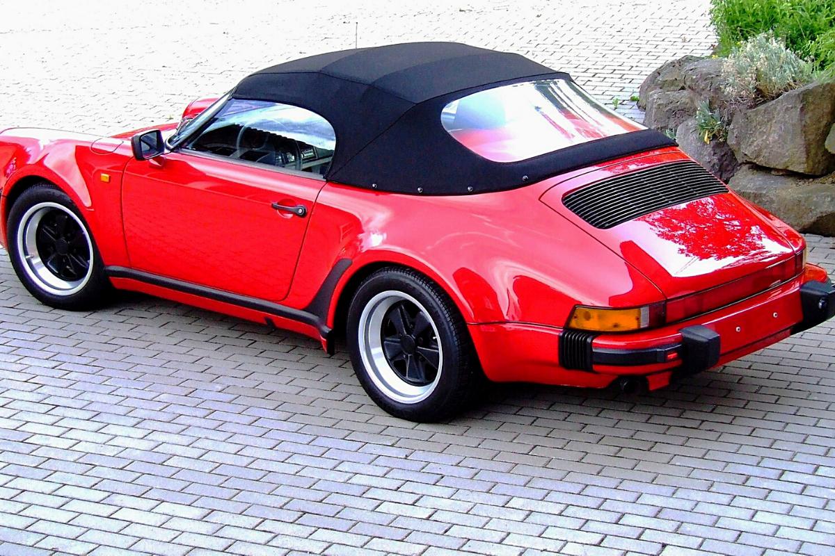 """The best old Porsche 911 models: Porsche 911 Carrera 3.2 1989 """