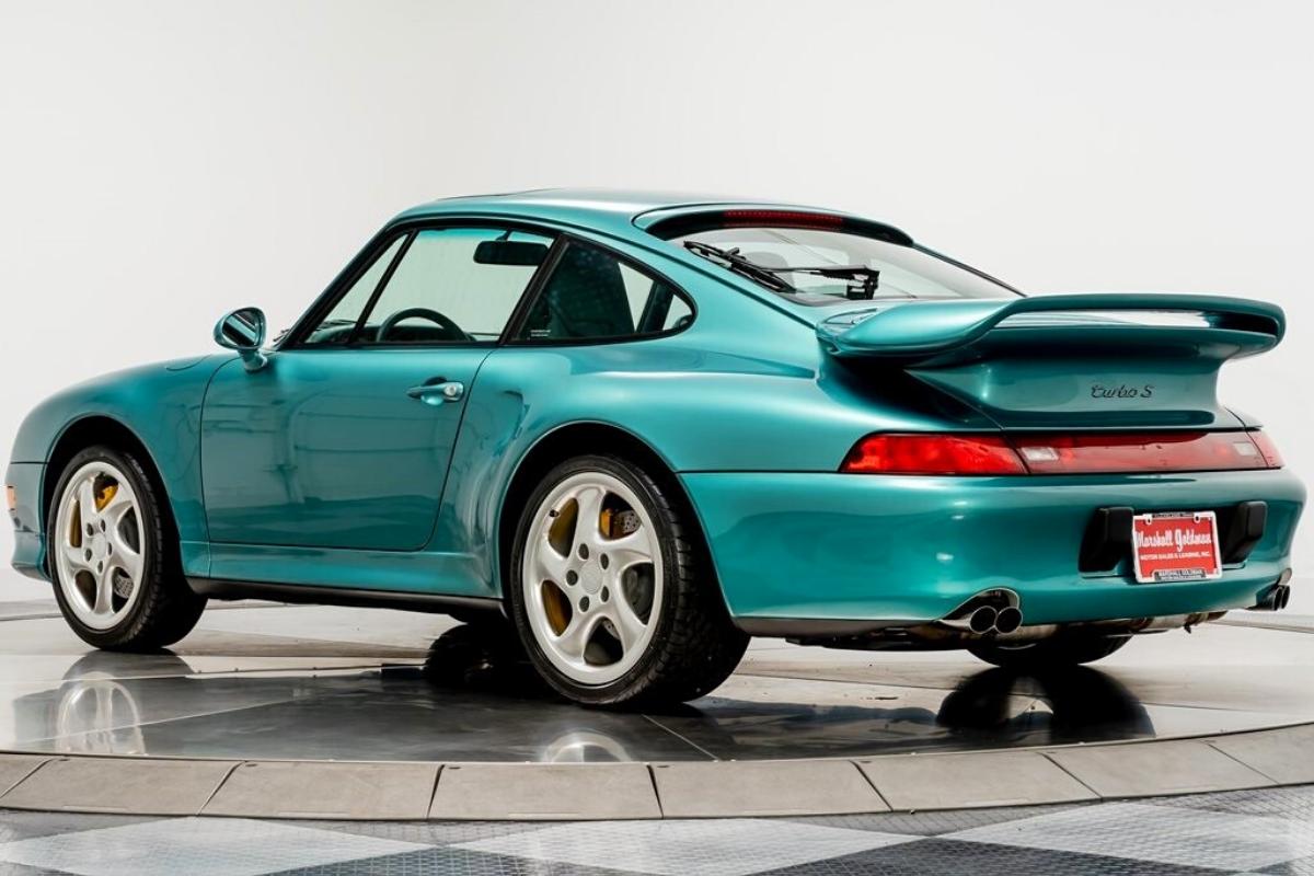 A Vintage Porsche 911 with a price $738,900: Porsche 911 Turbo S 1997