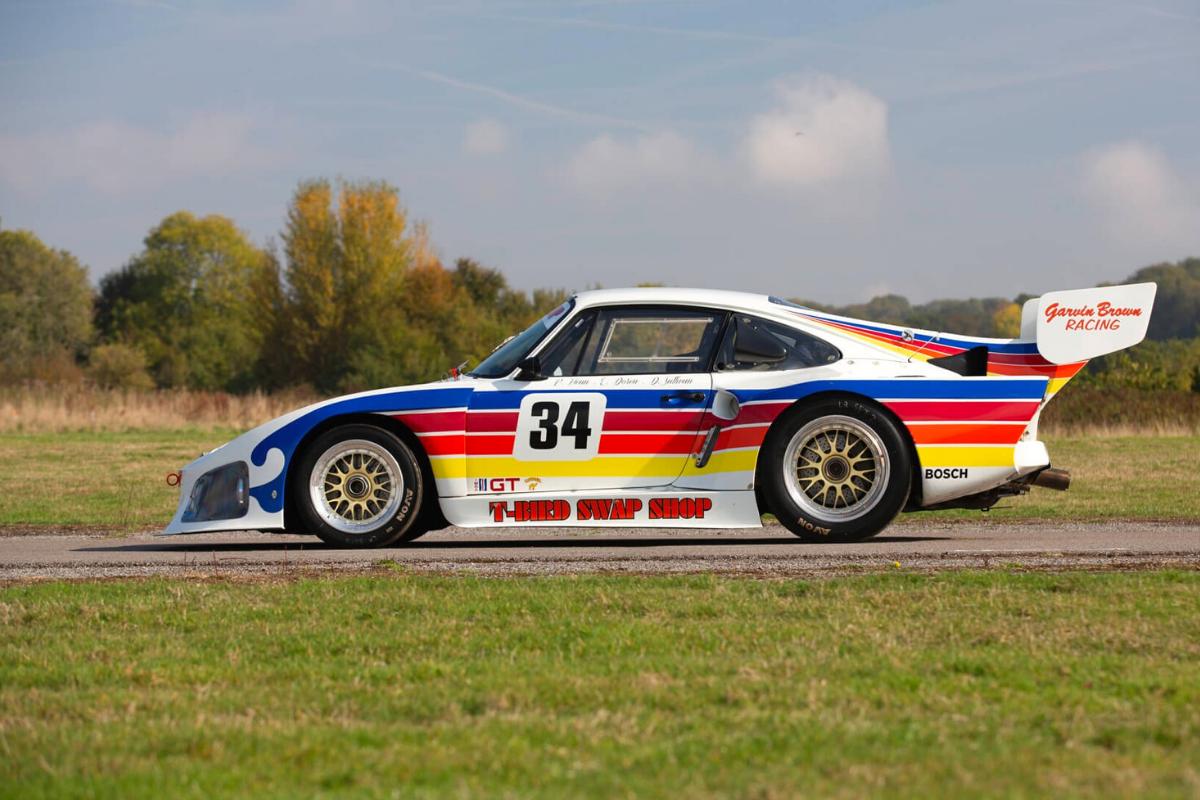 The best old Porsche 911 models: Porsche 935 1978