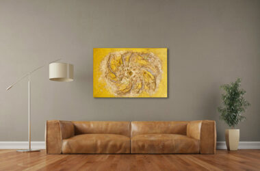 Gold, diamonds and Metatron: Luxurious abstract art for your walls