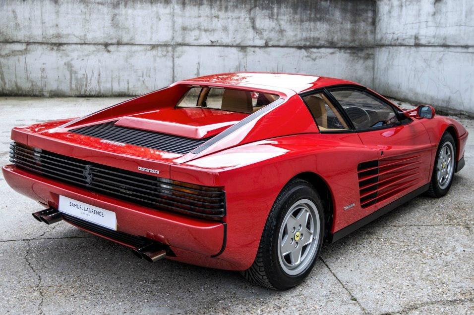 A Rare Ferrari Testarossa Spider Pininfarina Comes To Market