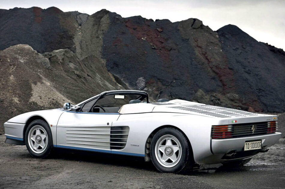 Breaking: One of the very few Ferrari Testarossa Spiders (that we know of) comes to market